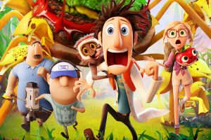2013 Movie Cloudy With A Chance Of Meatballs 2