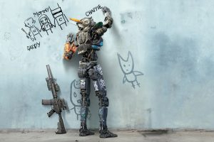Chappie Writing On The Wall