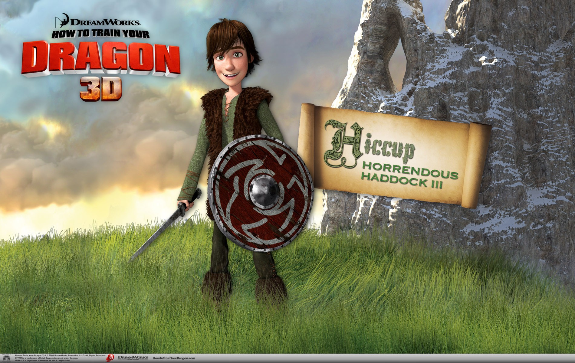 DreamWorks How To Train Your Dragon 3D