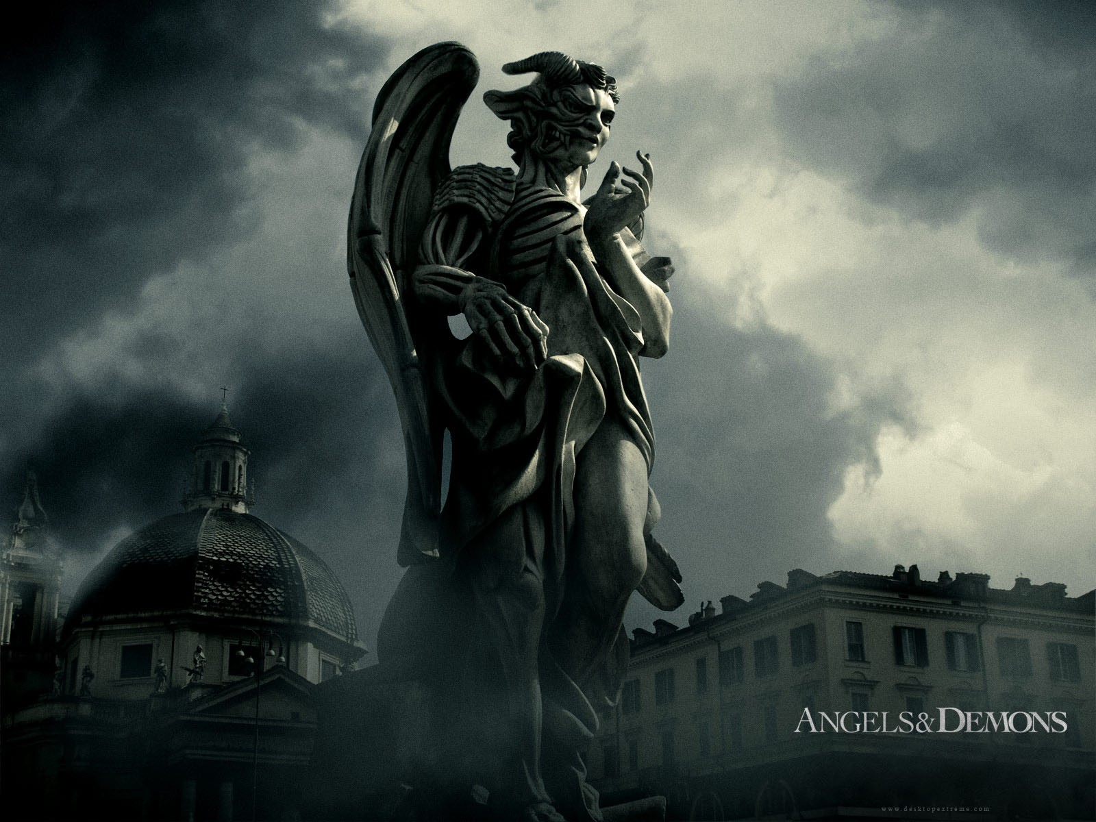 Angels And Demons Statue