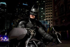 Batman On Bike