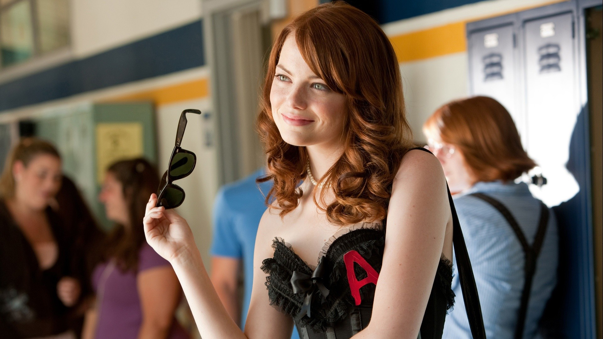 Emma Stone In Easy A HD