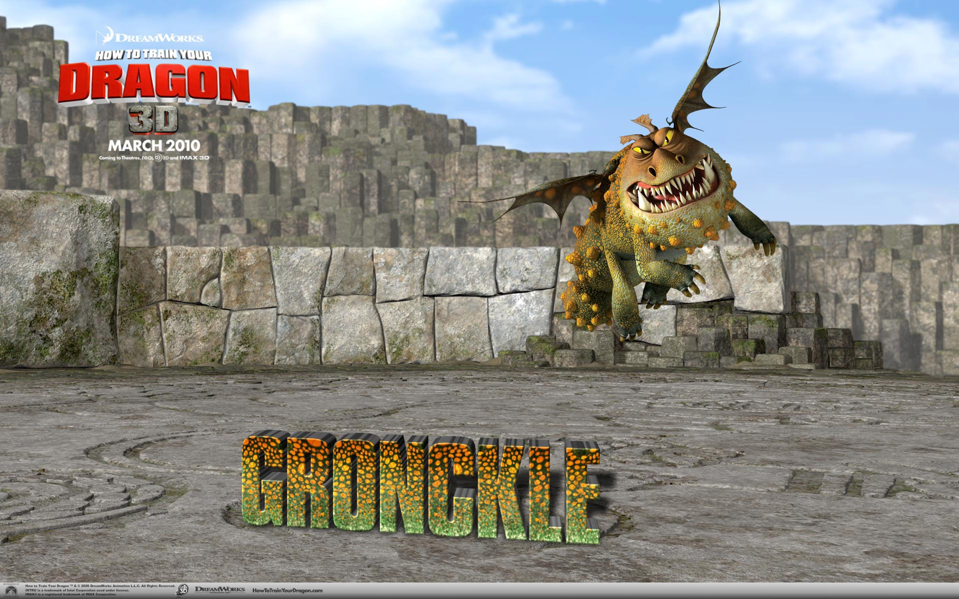 Gronckle On Fortress
