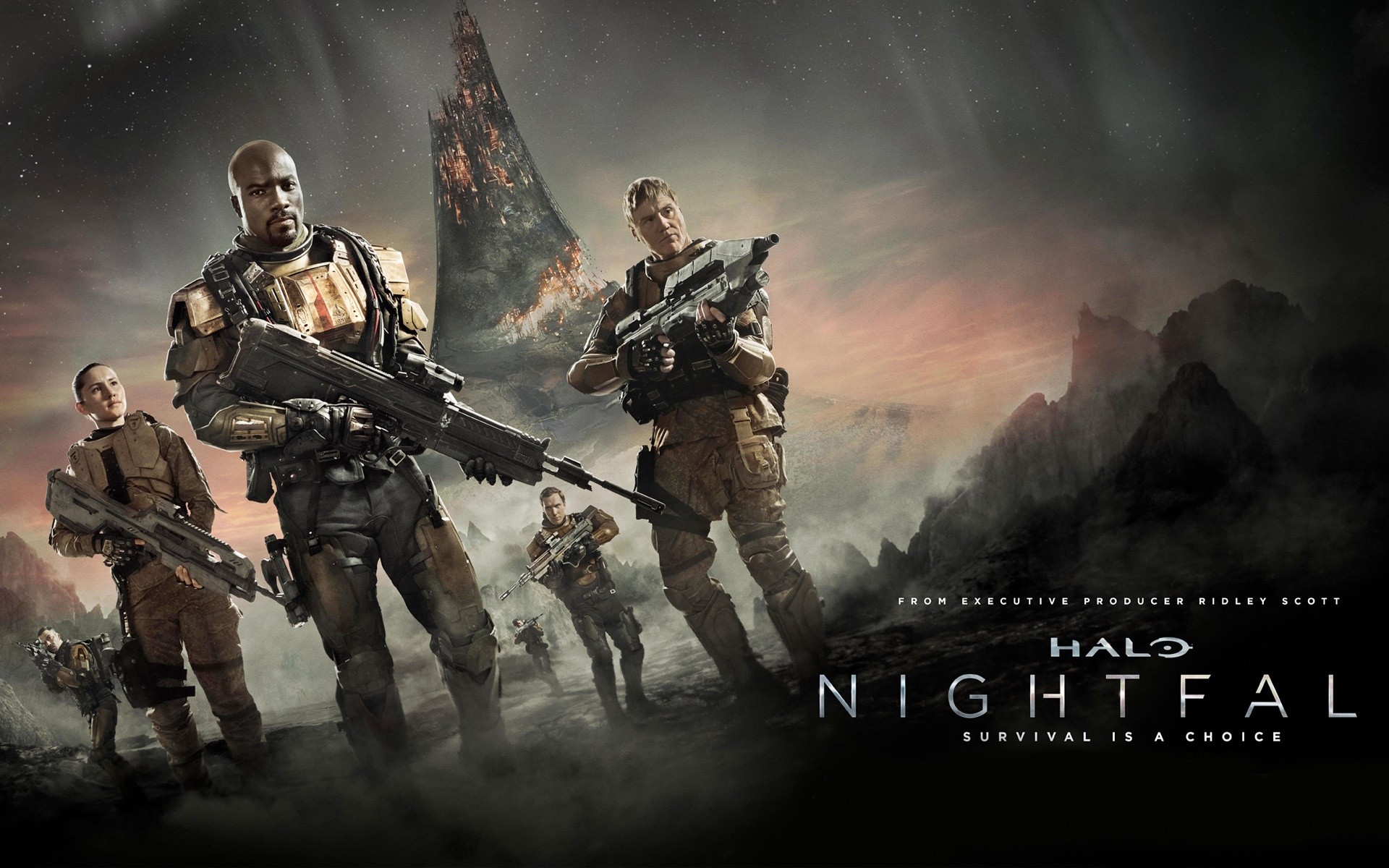 Halo Nightfall Tv Series