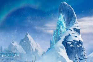 Icecastle In Frozen