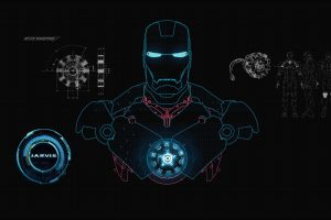 Iron Man Body Inner Structure HD