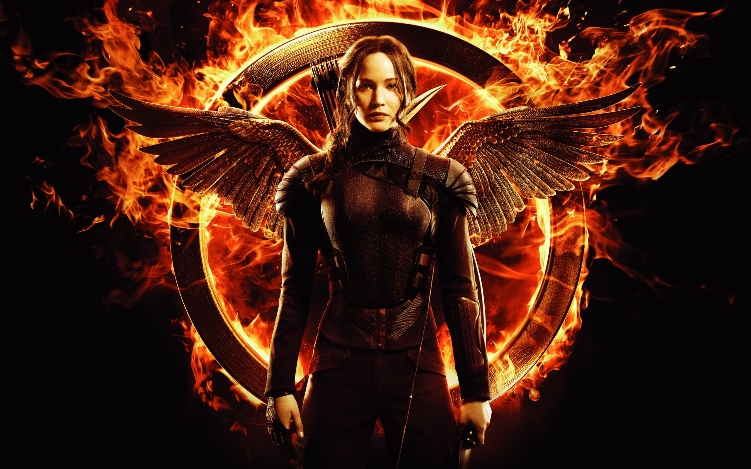 Jennifer Lawrence In Hunger Games Mockingjay