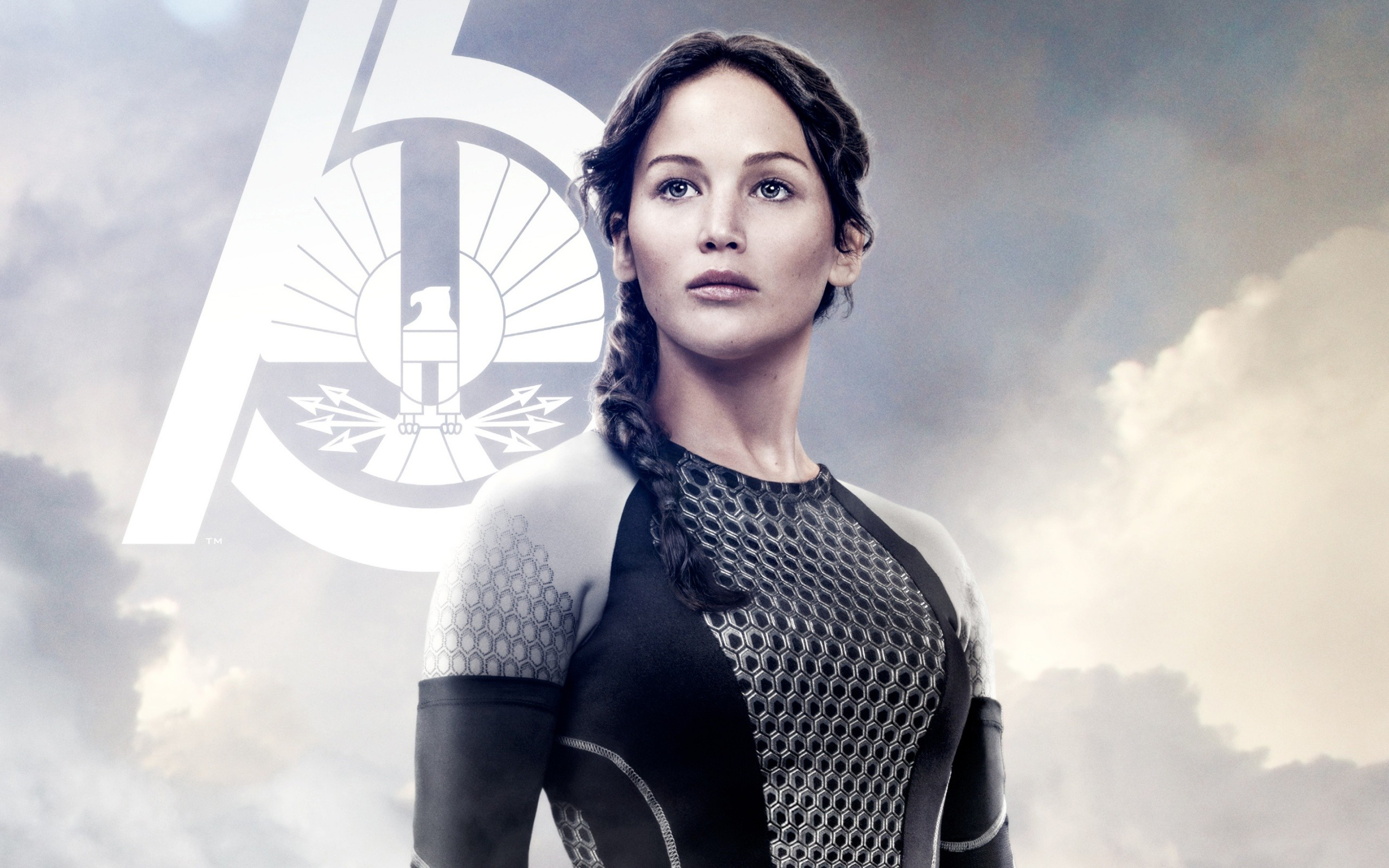 Jennifer Lawrence In The Hunger Games Catching Fire