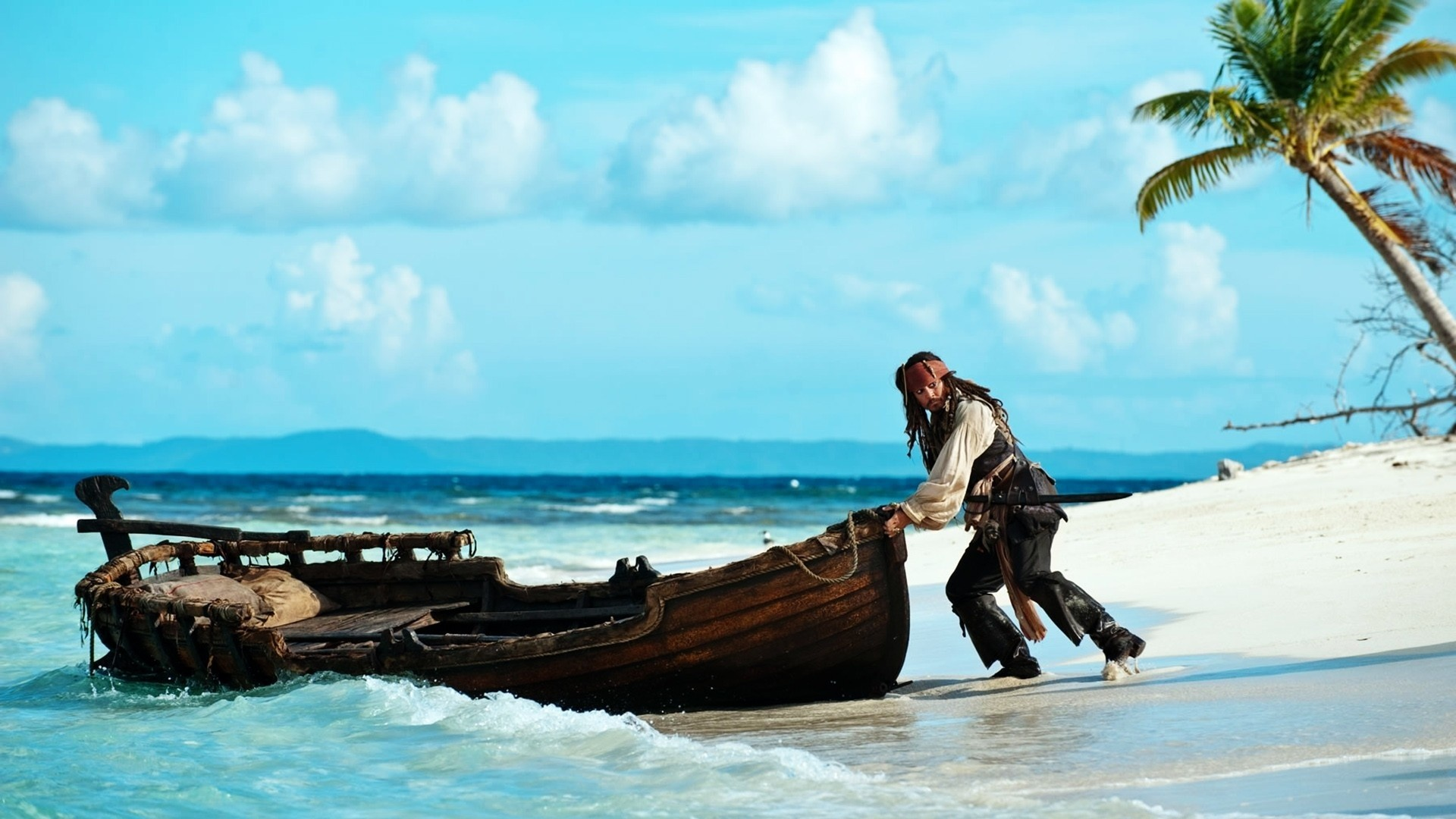 Johnny Depp In Pirates Of Caribbean HD