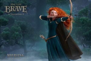 Princess Merida In Brave