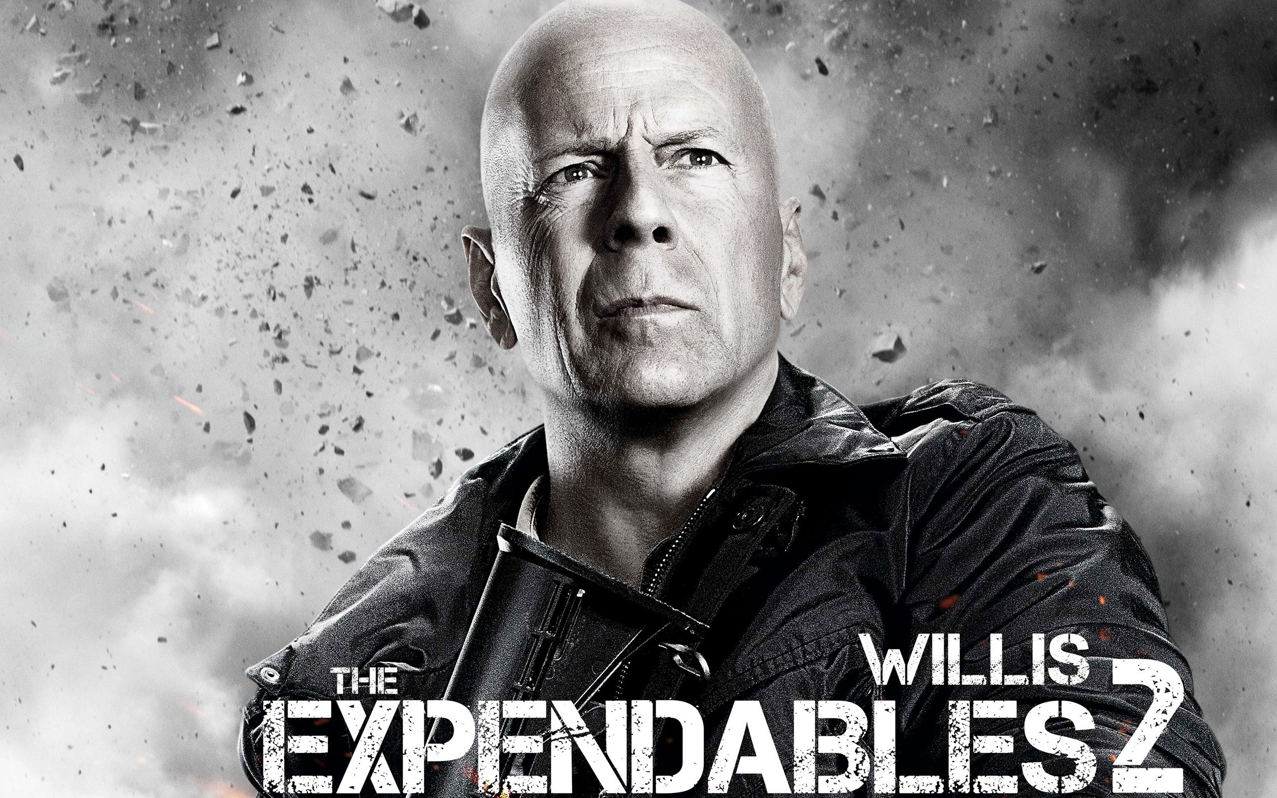 The Expendables 2 Bruce Willis Wide