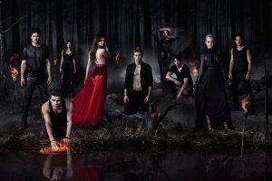 The Vampire Diaries TV Series Poster