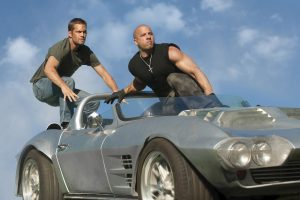 Vin Diesel And Paul Walker In Fast 5